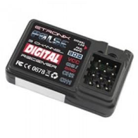 Etronix Pulse Gfsk 3ch 2.4ghz Receiver (et1060)