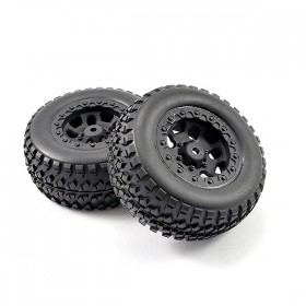 FTX Torro Mounted Tyres On Wheels (pr)
