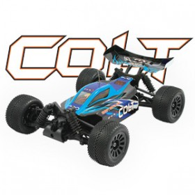 FTX Colt Rtr 1/18th Scale 4wd Electric Off-road Buggy - Blue/black