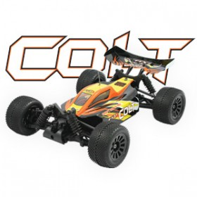 FTX Colt Rtr 1/18th Scale 4wd Electric Off-road Buggy - Black/orange