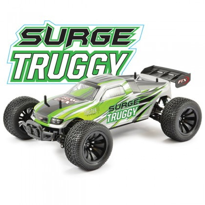 FTX Surge Rtr 1/12th Scale Electric Truggy - Green