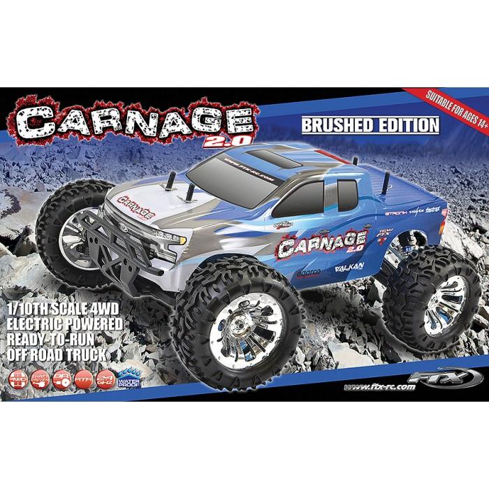 FTX Carnage 2.0 Bugsta Centre DRIVESHAFT sans balai Brossé 1//10