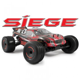 FTX Siege 1/10th Brushed Rtr 2wd 3-in-1 Electric Truggy - Red