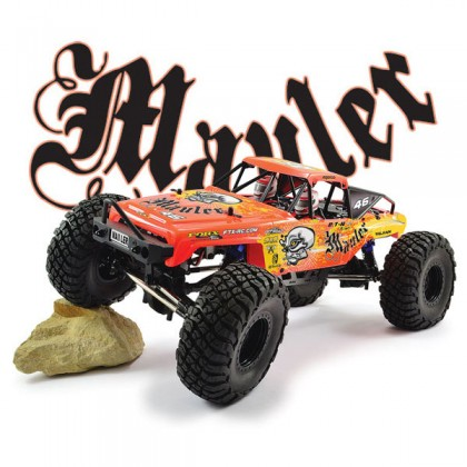FTX Mauler 4X4 1/10th RTR Rock Crawler - Dayglow Red