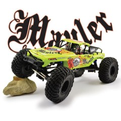 FTX Mauler 4X4 1/10th RTR Rock Crawler - Dayglow Yellow