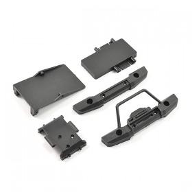 FTX Mini Outback 2.0 Fr/rr Bumpers & Electronics Mounts