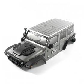 FTX Outback Mini X 2.0 Fury Grey Complete Body Pre-Built Body