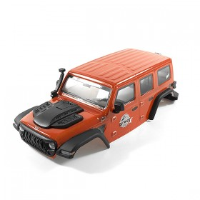 FTX Outback Mini X 2.0 Fury Red Complete Body Pre-built Body
