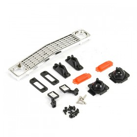 FTX Outback Mini X 2.0 Patriot Front Grill & Light Mount Set