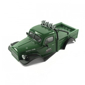 FTX Outback Mini X 2.0 Texan Glossy Green Complete Pre-built Body