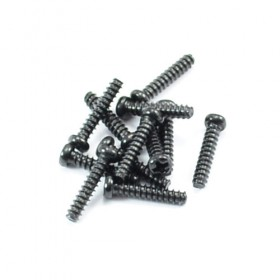 FTX Round Head Self Tapping Screws 2.6 X 12mm (12)