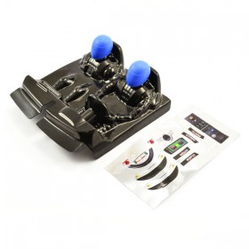 FTX Outlaw Driver Cockpit W/blue Decals