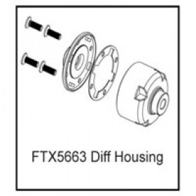 FTX Differential Housing (rampage/outrage)