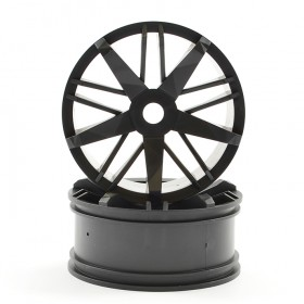 FTX Futura Black Front Wheels (pr)