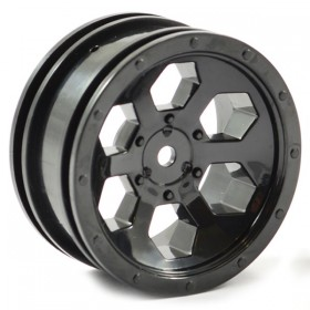 FTX Outback 6hex Wheel (2) - Black