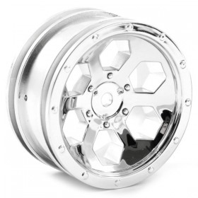 FTX Outback 6hex Wheel (2) - Chrome