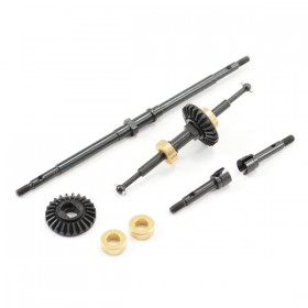 FTX Outback Mini Front & Rear Driveshaft W/main Gear (2pc)