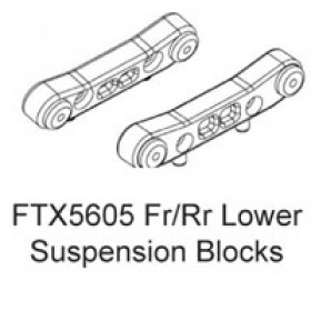 FTX Fr/rr Lower Supension Blocks (rampage/outrage)