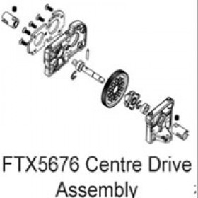 FTX Enrage Centre Drive Assembly