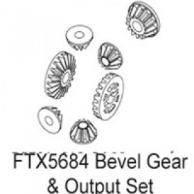 FTX Enrage Bevel Gear Set For Diff & Outputs