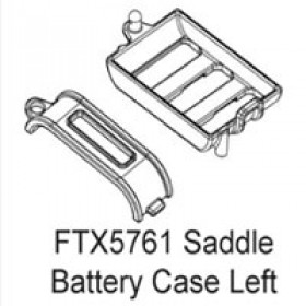 FTX Enrage Saddle Battery Base & Cover - Left