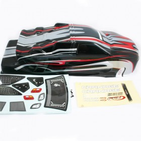 FTX Carnage St Printed Body - Black/red
