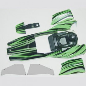 FTX Sidewinder Body Assembly (green)